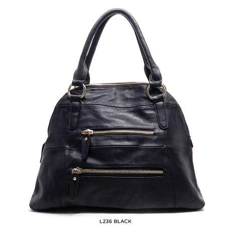 Faux-Leather Fashion Hobo or Dome Handbag - Assorted Colors $34.00