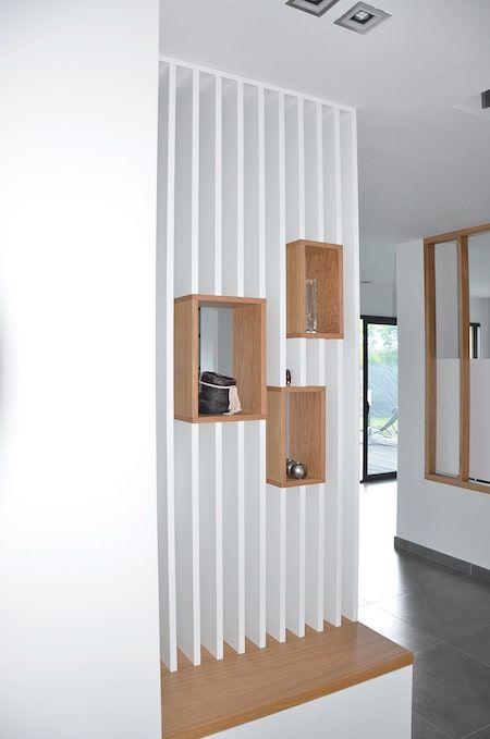 Ecriture D Un Interieur Contemporain Deco Entree Maison Idee Entree Maison Deco Maison