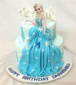 Pin By Nour Omar On Frozen Themed Birthday Cake Elsa