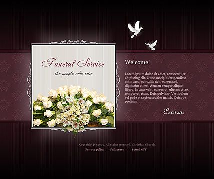 Send funeral invitation promptly and with the help of an memorial template complete slideshow presentation for your toneelgroepblik Image collections