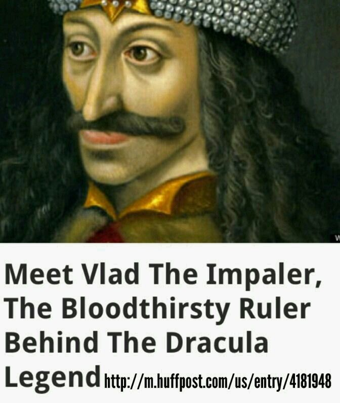 Rh Alien Blood Type Vlad The Impaler
