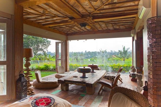 Asia House Of The Day: Rustic Home In Bali, Indonesia By Andre Cooray