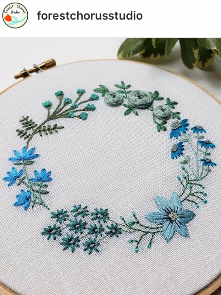 Embroidery Patterns Australia   Floral embroidery patterns, Crewel ...