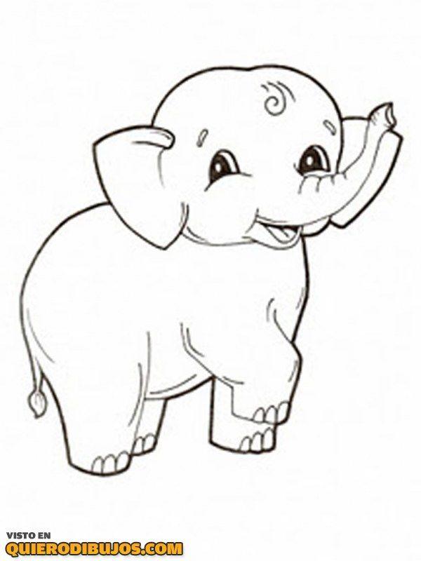 elefante-bebe-para-colorear.jpg (600×800) | Classroom Decor | Pinterest