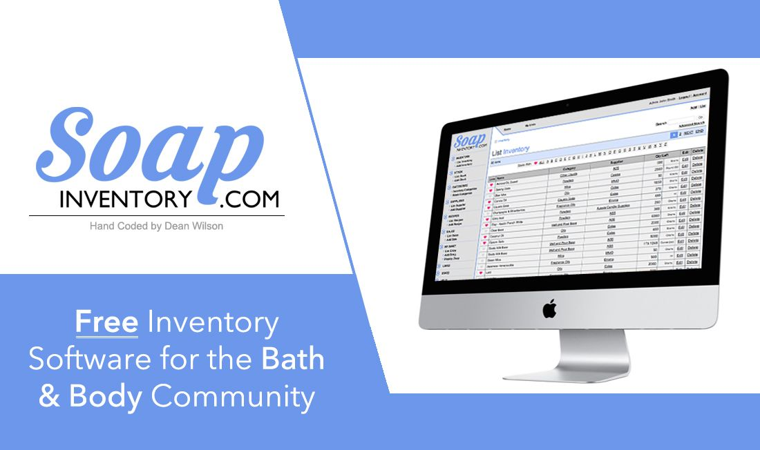 Soap Inventory Free Inventory Solution for the Bath