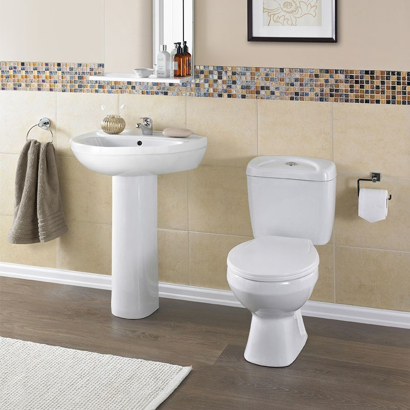 Melbourne Toilet And Basin Suite At Victorian Plumbing UK