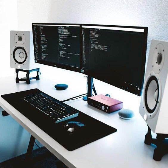 DIY Computer Desk Ideas #gamingdesk