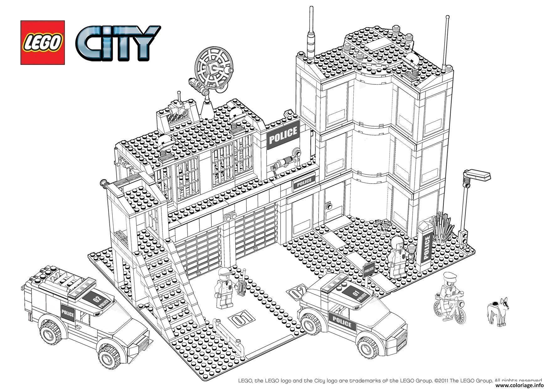 Coloriage Lego City