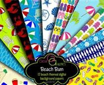 scrapbook paper by the sheet flip flops - Bing Images