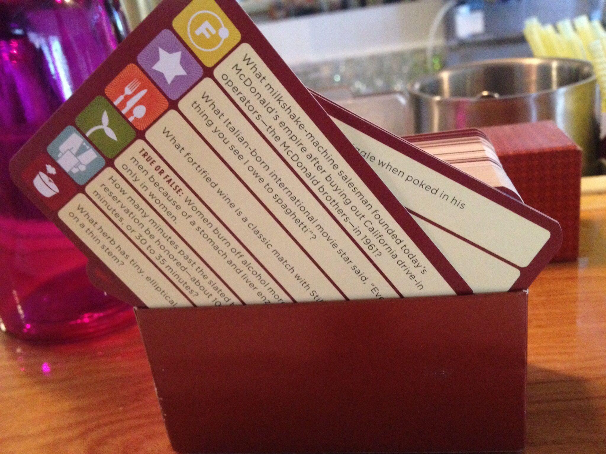 Trivia Cards For Bar Conversation Trivia Sayings Salesman
