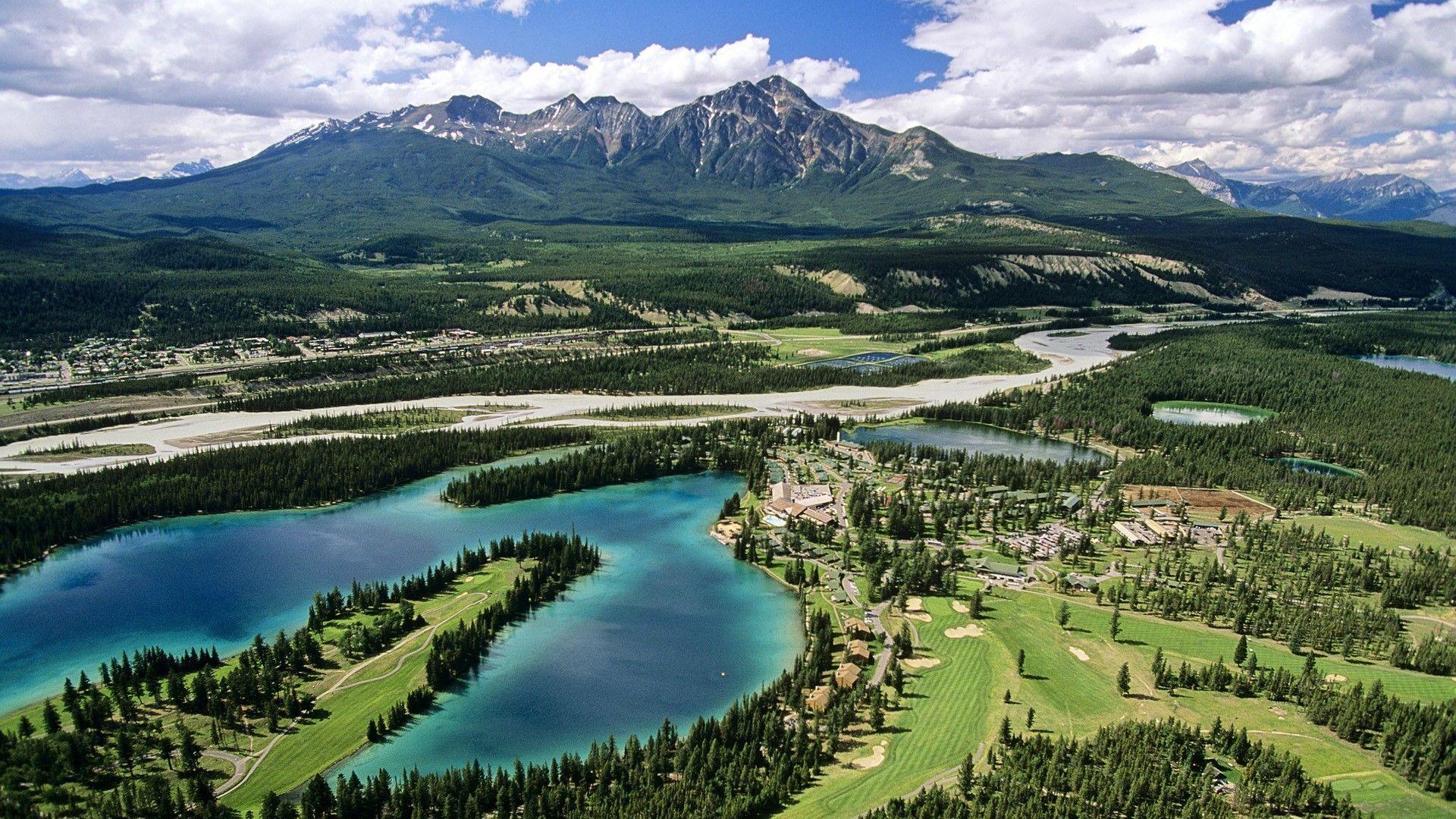 Alberta Jasper National Park Landscapes Wallpaper Alberta National Parks Park Landscape State Parks