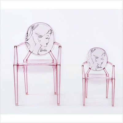 Charming Kartell Barbie Louis Ghost Chair   Perfect For A Dressing Room (a Girl Can  Dream