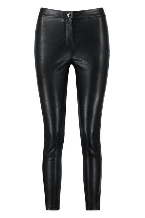 86b315c12ef8 Matte PU Leather Look Skinny Trouser in 2019 | a/w 2018 capsule ...