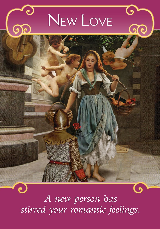 Oracle Card New Love Angel Del Amor Tarot De Angeles
