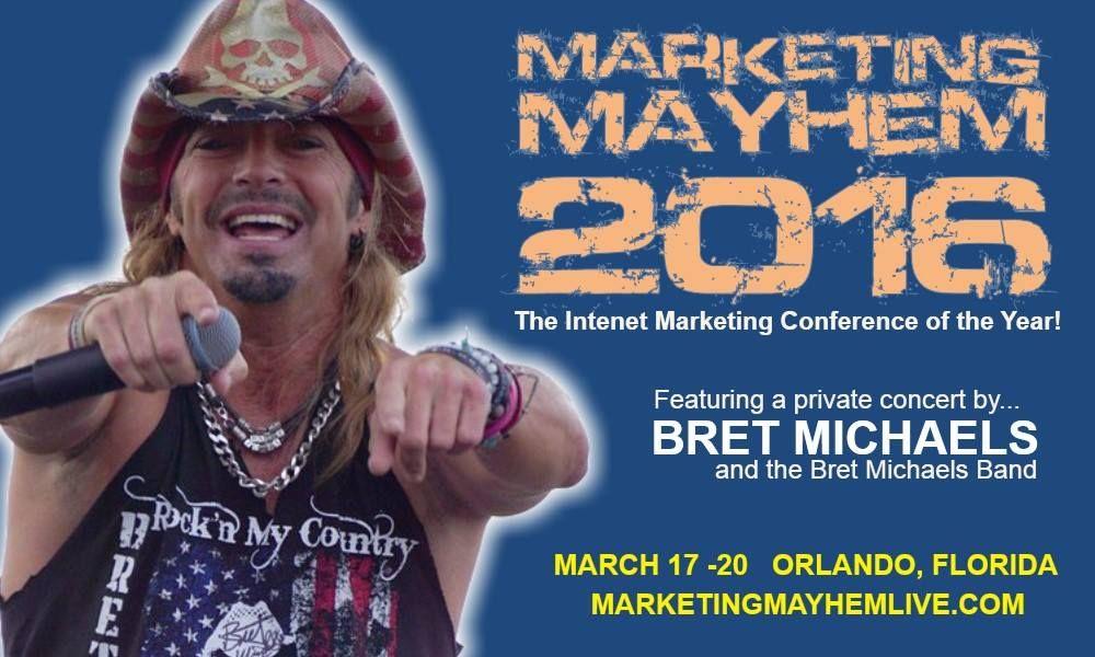 Join Me at Marketing Mayhem 2016 http://www.charleskush.com/blog/join-me-at-marketing-mayhem-2016/