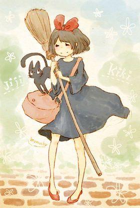 Studio Ghibli Stickers ちびキャラ イラスト