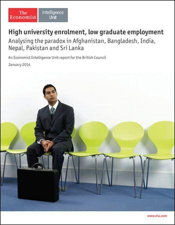 The Economist (Intelligence Unit) - High University enrolment Low Graduate employment (January 2014) English   25 pages   True PDF   15.64 Mb