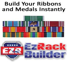 the ez rack builder army medals navy