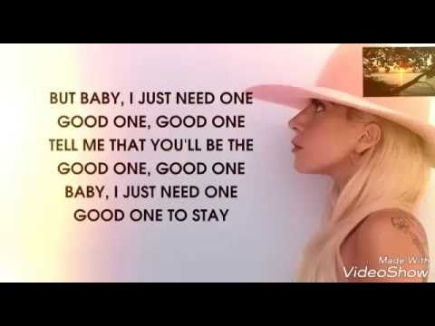 Lady Gaga Million Reasons Lyrics Inspirational Songs Lady Gaga