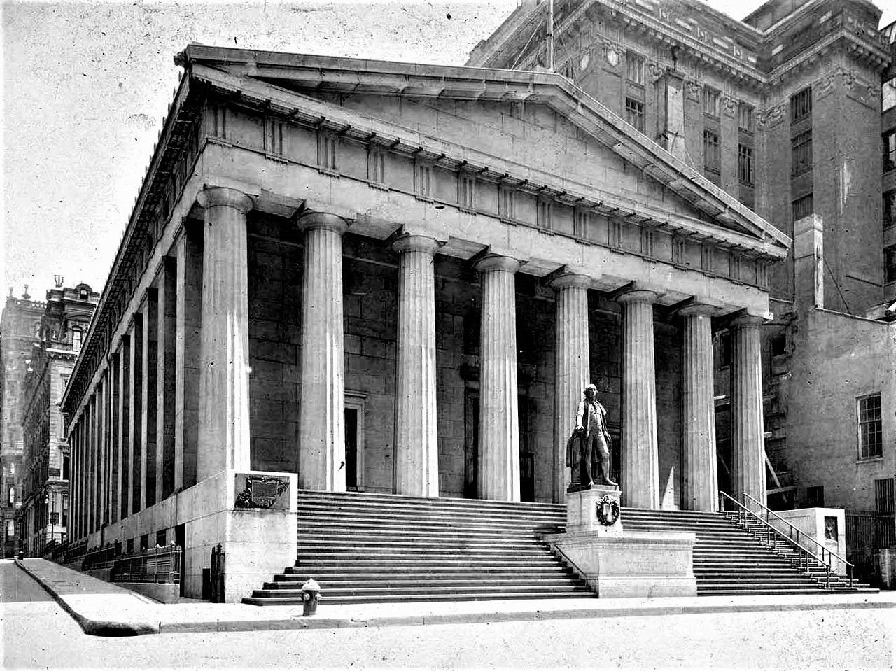 new york federal hall on wall street 1900 in 2020 on wall street news id=21955