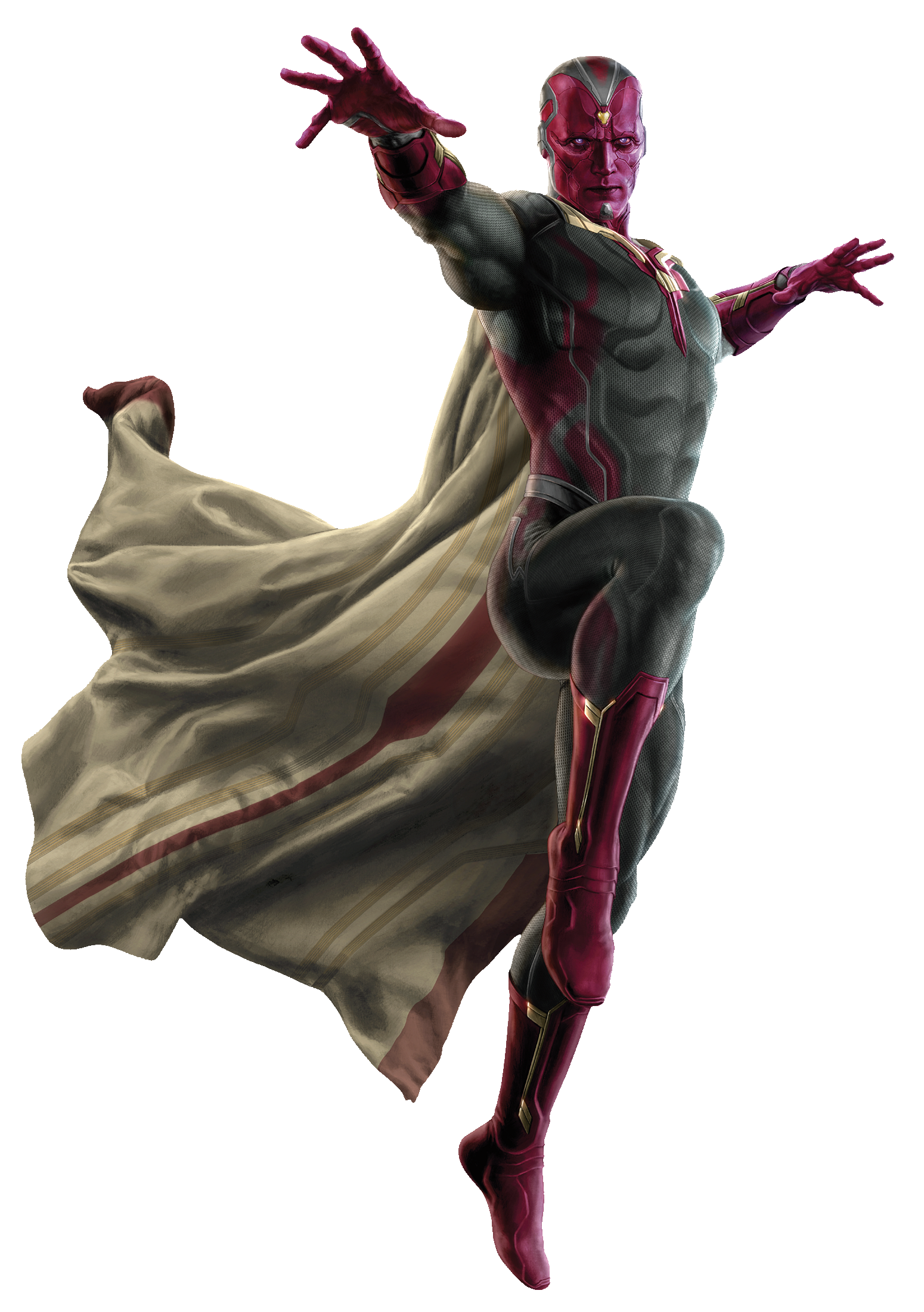 The Avengers Age of Ultron The Vision Promo Art