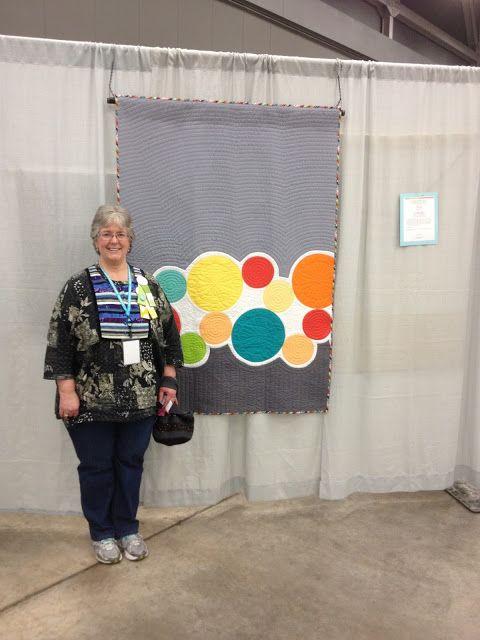Janet McWorkman at Austin Quilt Con