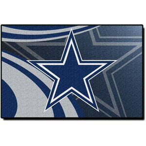 White Rugs NFL Dallas Cowboys x Rug The rug I bought for his