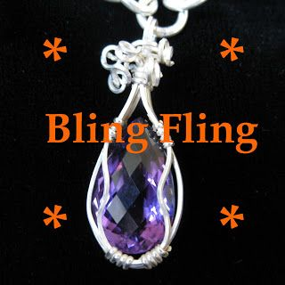 """Bling Fling Linky Party!   Have a some bling to show off? Come and post your link at my party! Link with the most likes wins a 15"""" strand of Apatite beads! Link Party ends May 31, 2015"""