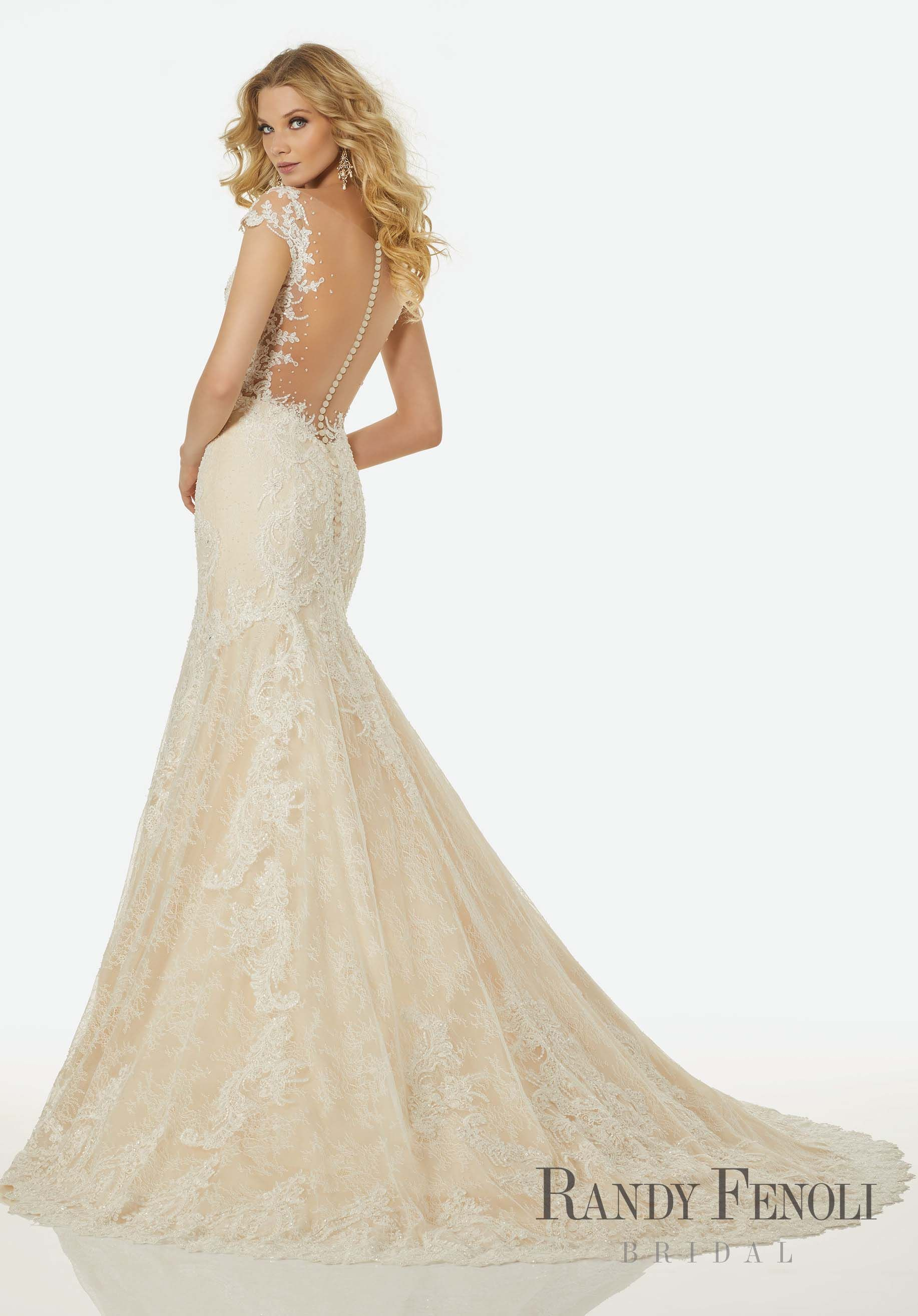 Randy fenoli bridal jasmine wedding dress style 3407 crystal randy fenoli bridal jasmine wedding dress style 3407 crystal beaded alenon lace appliqus junglespirit Gallery