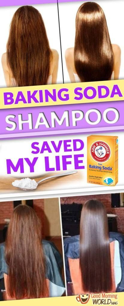Baking Soda Is An Incredibly Easy Way To Clean Your Hair It Sounds Shocking But You See The Results The Moment Yo Haare Wachsen Haarmittel Haarkuren