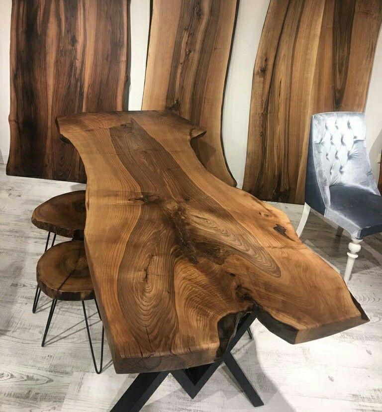 Pin de nailen gonzalez en madera rustica | Pinterest | Troncos, Mesa ...
