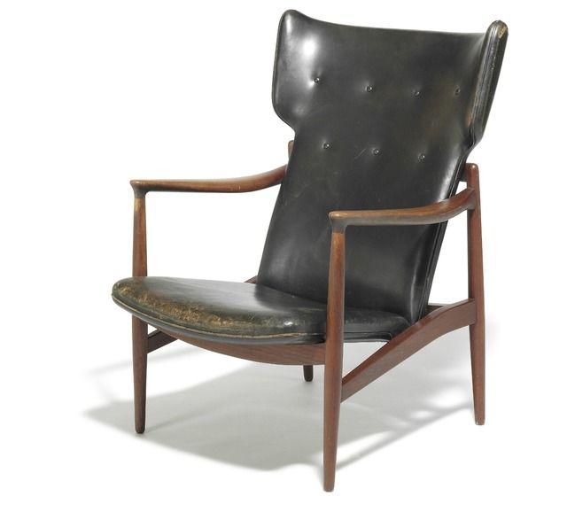 Sensational Jacob Kjaer A Rare High Back Teak Easy Chair Adjustable Inzonedesignstudio Interior Chair Design Inzonedesignstudiocom