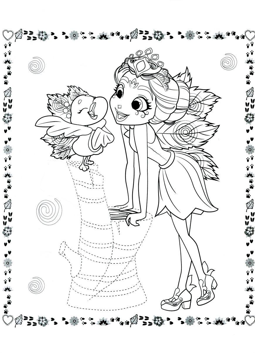 Dibujos Para Colorear Enchantimals Imprime Gratis ...