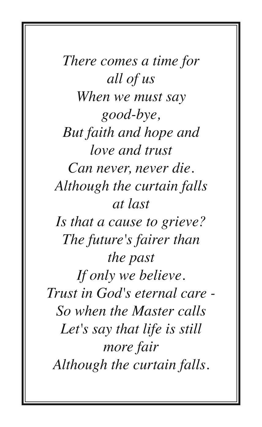 Irish memorial cards versesfor more verses visit our