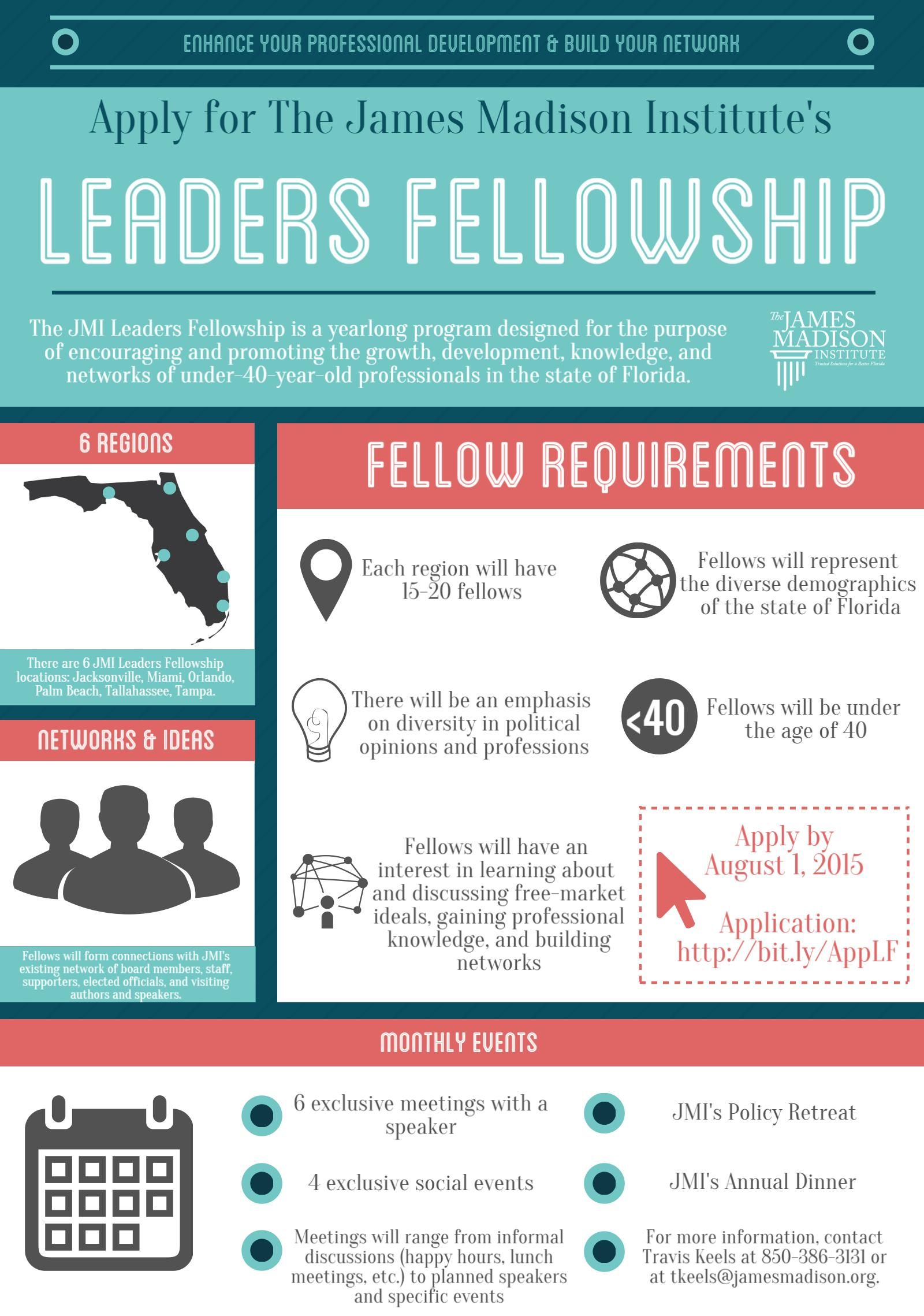 Apply for the JMI Leaders Fellowship today! Deadline: August 1, 2015