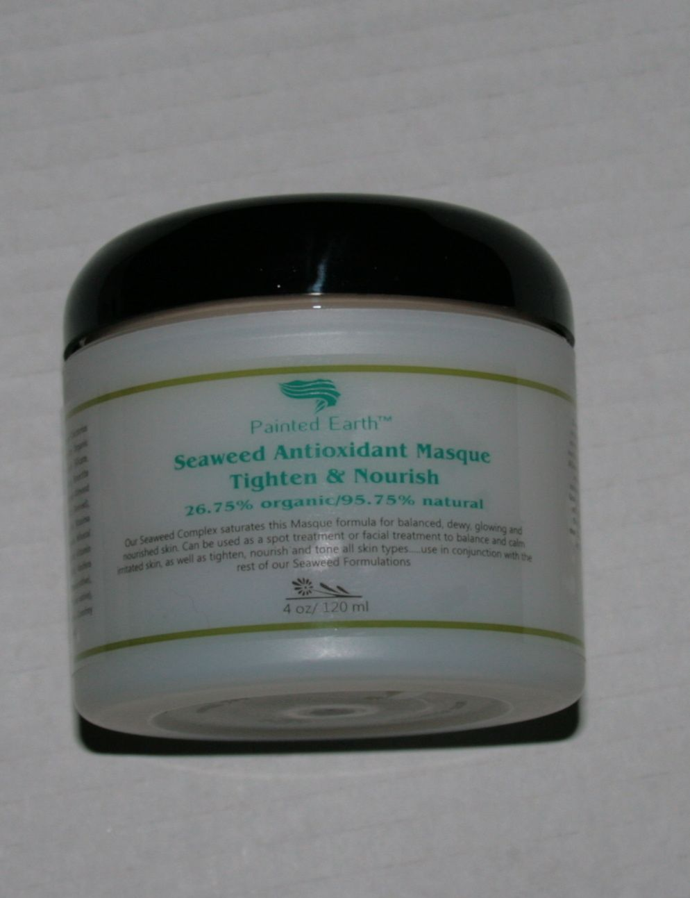 Seaweed antioxidant masque. Thightens and nourishes your skin