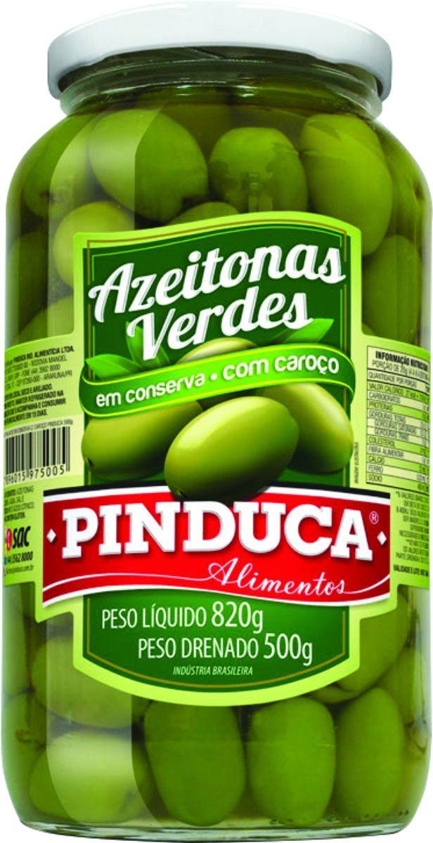 Produto - Pinduca Alimentos - Azeitonas Verdes PINDUCA 500g
