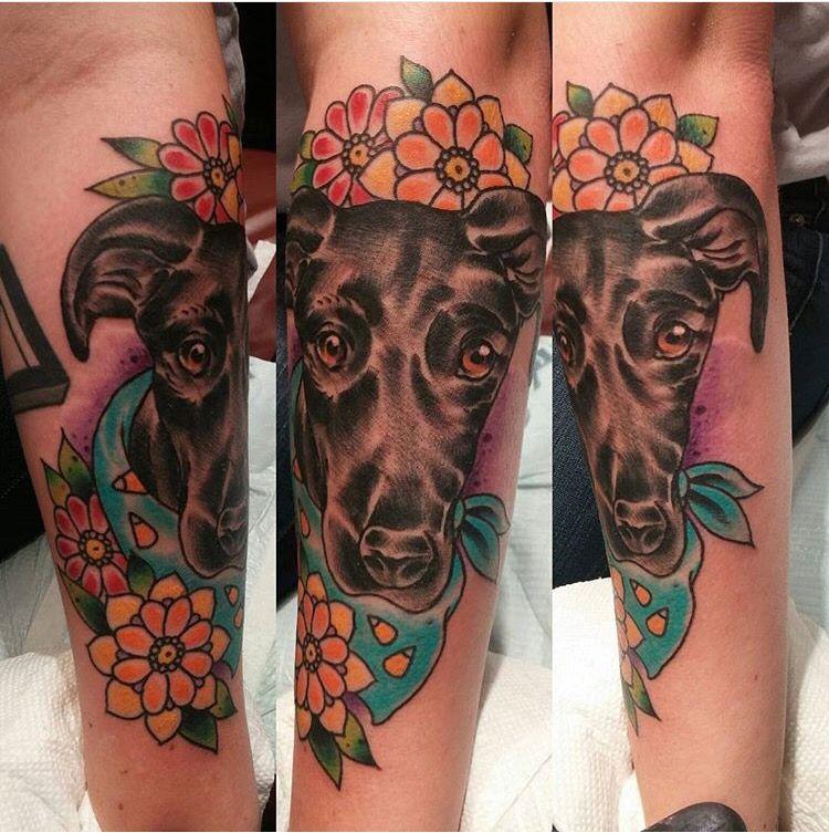 Piper The Great Dane Tattoos Cute Skin Art