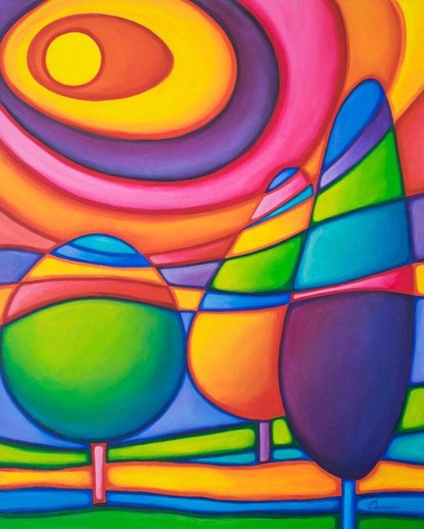 Mille Colori Arte Abstracto Facil Pinturas Abstractas Arte Naif