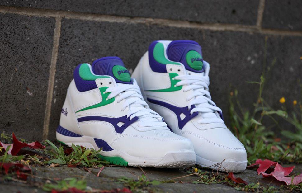 amp; Sneakers Big To Buy Purple Green Reebok Axt Pump gHwRqwIz