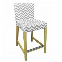 Ikea Henriksdal Bar Stool Cover From Knesting Com In Ash