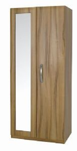 Tipolo 2 Door Mirrored Wardrobe