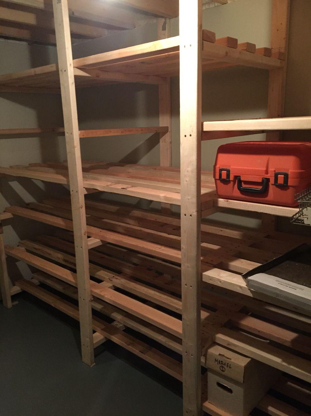 3/24/16 Basement Room Storage Unit Complete 128e