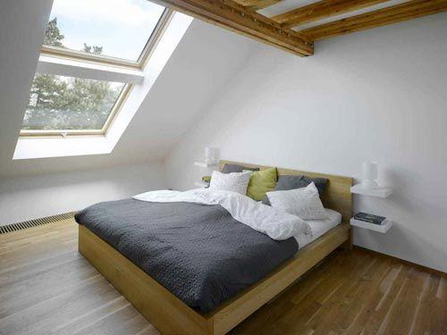 zolder slaapkamer ideeen - google zoeken | attic | pinterest, Deco ideeën