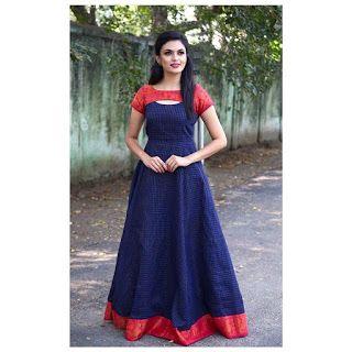 21 Kurti from old saree designs    Saree reuse Ideas