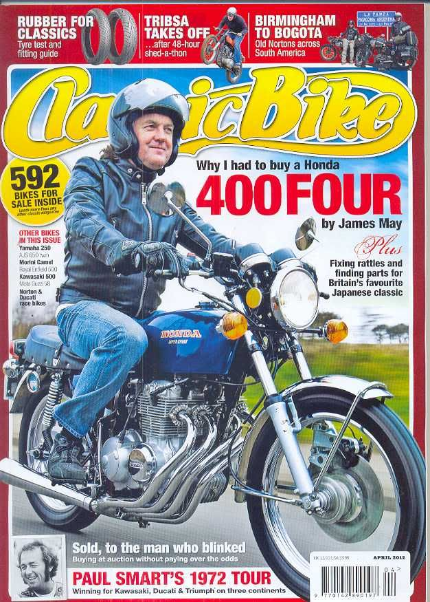 Classic Bike Magazine April 2012 James May Bike Magazine