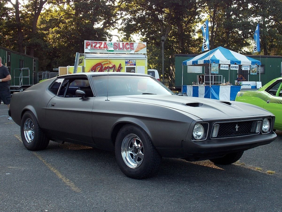 American Muscle Cars Ford Mustang Mach Cleveland