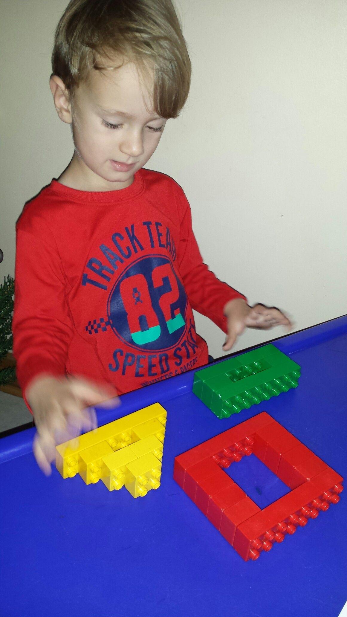 Building Lego Shapes