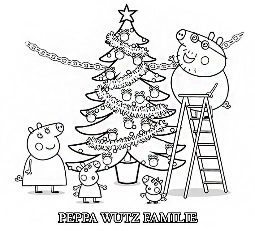 Ausmalbilder Peppa Wutz Geburtstag Geburtstag