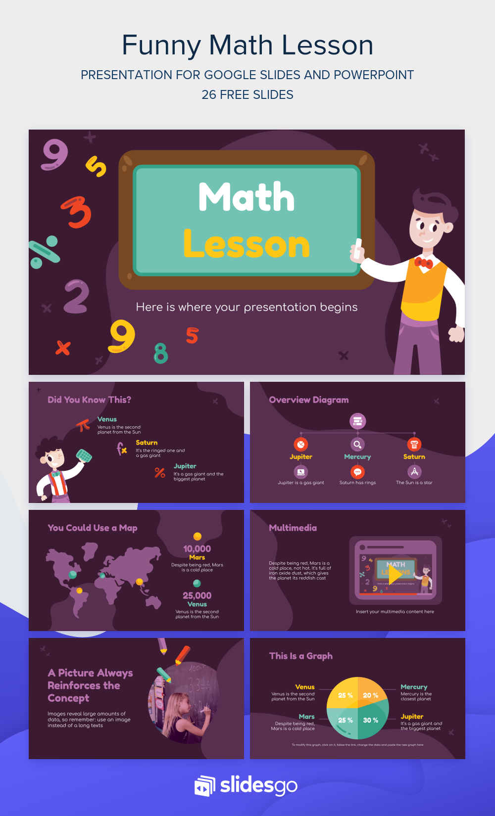 Prepare An Amazing Math Lesson For Your Students With This Funny Presentation Get It For Free Available As Google Slides Th Math Lessons Math Powerpoint Math